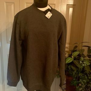 Van Heusen Sueded Fleece Sweatshirt XL NWT